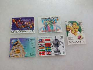 Malaysia Stamps 5V #124