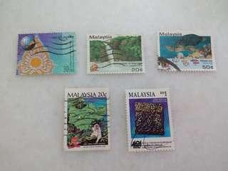 Malaysia Stamps 5V #125