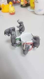 大象 杯緣子