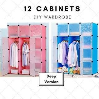 [SALE] DIY modular 12 cabinet / wardrobes / storage