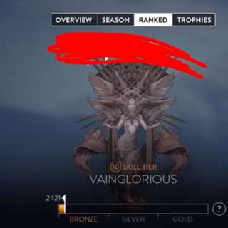 Vainglorious and POA accounts!