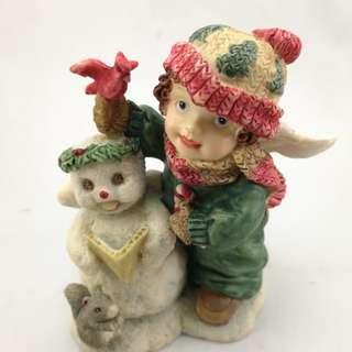 Perfect Little Place #19 Angel Figurine Ceramic Decor