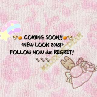 🍊🍊NEW YEAR, NEW LOOK 2018!! Coming soon~🍊🍊 🐶More items on SALES, More DISCOUNTS for My Followers!!🐶 (CIck Follow Now!! Don't Regret after chat) 💕