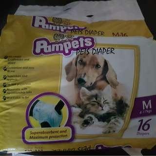 Pets diaper M size