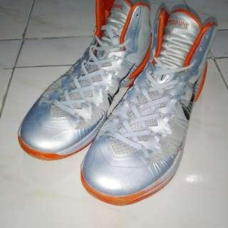 Nike HyperDunk 2013 XDR (Siver and Orange)