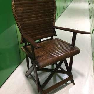 竹椅 97 h x 55 w x 58 d (cm)