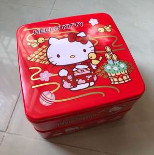 Hello Kitty 傳盒