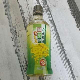 獅球o麥芥花籽油 600ml 可交換惠康印花