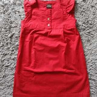 Dress anak impor