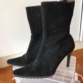 High heel pointy boot 尖頭高踭靴