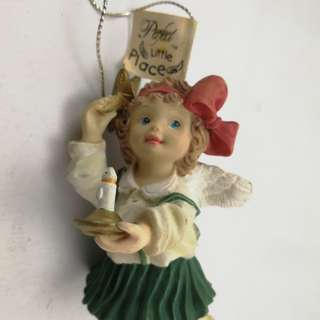 Perfect Little Place #24 Angel Figurine Ceramic Decor
