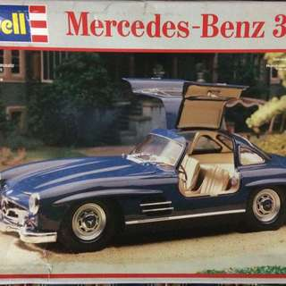 Revell 1/24 Benz 300SL 中古品