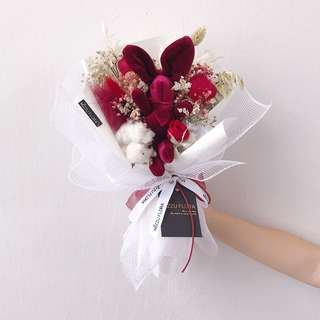 Vday Gift| Dried Flower Bouquet
