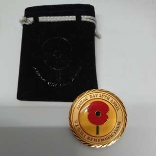 New Zealand Defence Force Anzac Day souvenir
