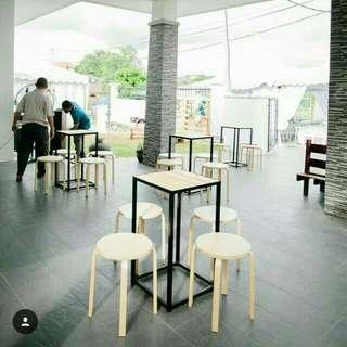 Used Custom Made Bar Table