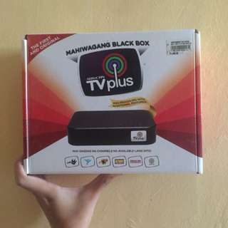 ABSCBN TV Plus (new model) with extended antenna wire