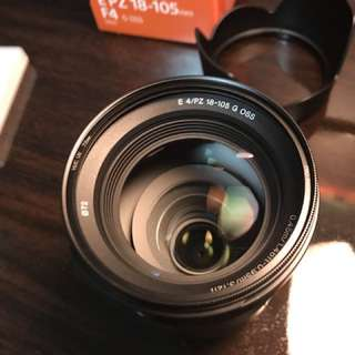 Sony E PZ 18-105mm f4 Lens Bundle