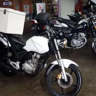 Rent a motorcycle for  $360 monthly