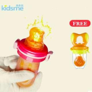 SALES!! KIDSME FOOD FEEDER (2pc set)