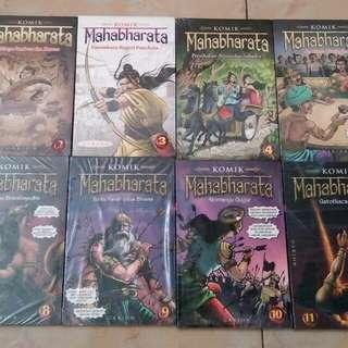 Komik Mahabharata set 1 - 12 (mulus, segel)