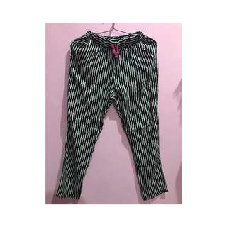 Never been used, stripe pants