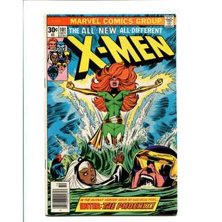 Marvel Comics X-Men #101 NM- 9.2 HIGH GRADE Bronze Age KEY 1st Phoenix MOVIE