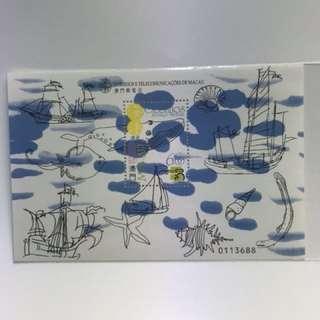 澳門郵票 1999 海洋遺產
