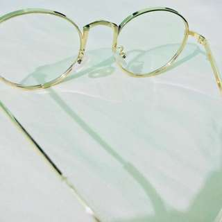 Clear eyeglass with anti radiation anti UV rays