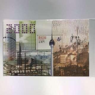 澳門郵票 2000 新紀元