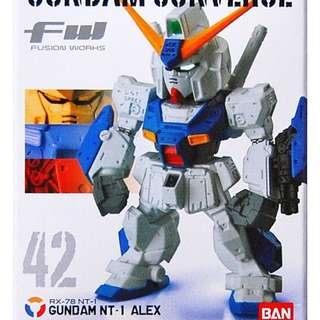 BANDAI FW GUNDAM CONVERGE VOL. 7 RX-78 NT-1 GUNDAM NT-1 ALEX FIGURE VERY RARE