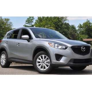 Rent Mazda CX-5(Per Hour)