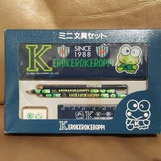 Sanrio Keroppi ~1993's 小型文具套裝
