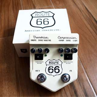 Visual Sound V2 Series V2RT66 Route 66 Overdrive and Compression Guitar Effects