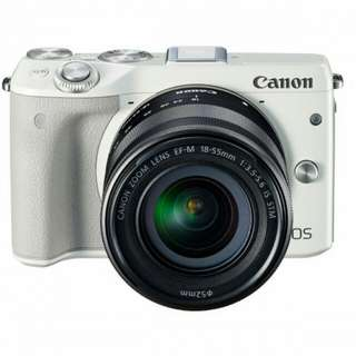 Kredit Canon EOS M3 Kit EF-M 18-55mm - Cicilan tanpa kartu kredit