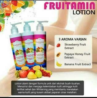 Lotion fruitamin BPOM