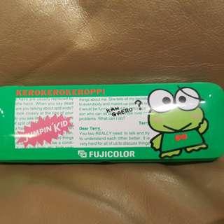 Sanrio Keroppi ~1992's 鐵筆盒