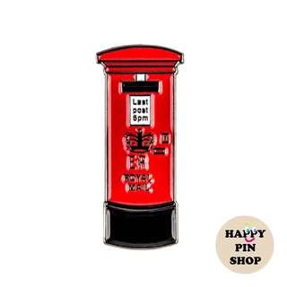 📮UK Royal Mail Enamel Pin