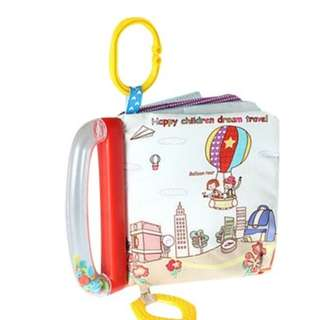Teether Softbook - Hot Air Baloon T369