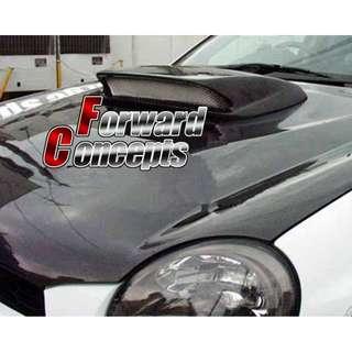 02-03 Impreza WRX ST款 碳纤头盖入风口