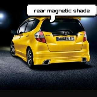 Honda fit GE rear magnetic shade
