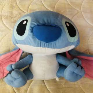 Giant stitch sutffed toy