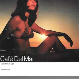 MY CD- CAFE DEL MAR - FREE DELIVERY BY S INGPOST