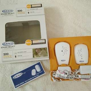 Graco Sound Select Baby Monitor