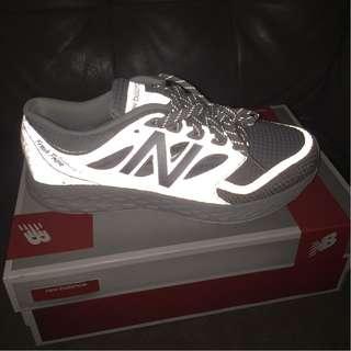 Highly Reflective New Balance Sports Shoe