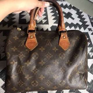PRELOVED 💯 AUTHENTIC LV SPEEDY 25