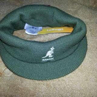 Kangol 帽 造型帽  髮帶 彈性 橄欖綠色 黑色 二色