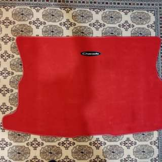Detomaso g200 rear carpet