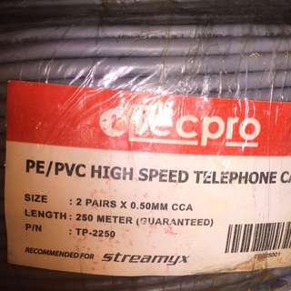 Tecpro Telephone Cable