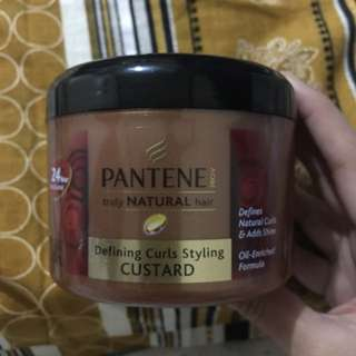 Pantene Defining Curls Styling Custard (tames frizz)