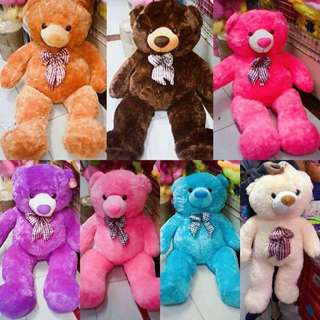 5FT. HUGGABLE TEDDY BEARS